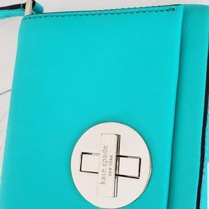 New Kate spade crossbody Sally teal newbury lane